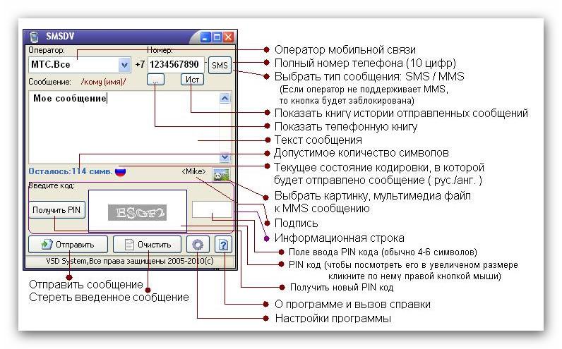 Скачать бесплатно SMSDV.Программа для отправки SMS и MMS сообщений на